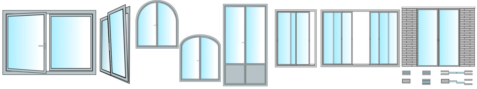 Modele de porte et fenetre