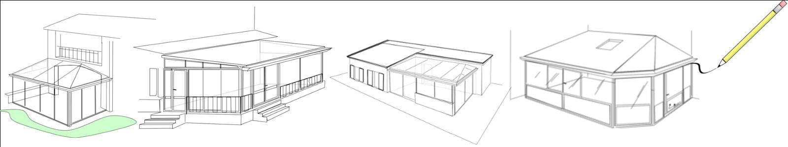 Fabricant de v randas r alisation d 39 extensions bois alu for Construire jardin d hiver