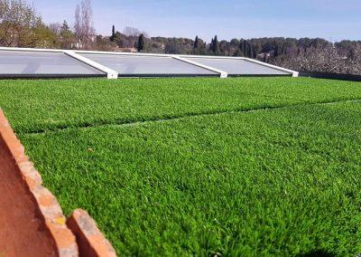 Extension aluminium veranda Le Rouret avec toiture Végétalisée3
