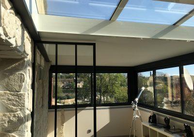 Extension aluminium veranda Le Rouret3