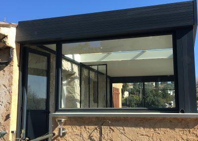 Extension aluminium veranda Le Rouret5